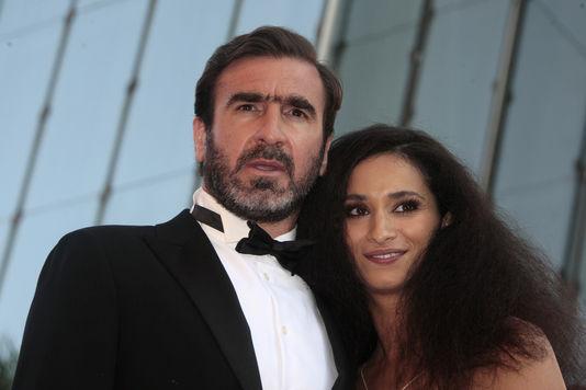 Rachida Brakni et Eric Cantona