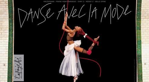 Danse avec la mode avec Mia Frye pour les Galeries Lafayette