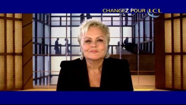 Muriel Robin pour LCL