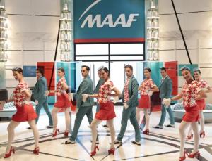 Publicité MAAF Palace