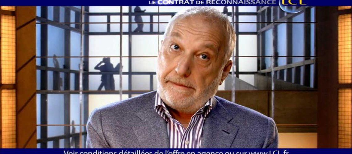 Publicité LCL avec François Berléand