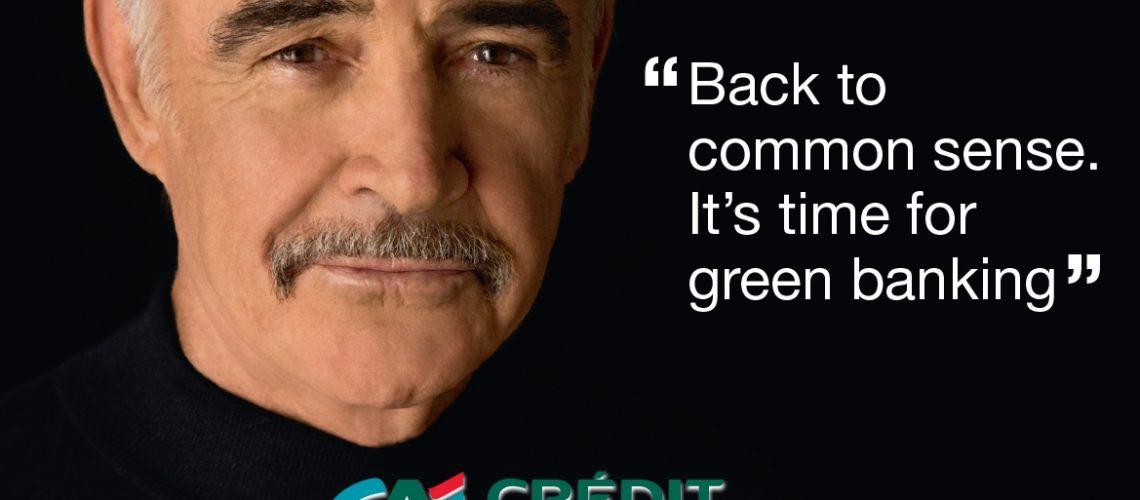 Sean Connery pour le Crédit Agricole
